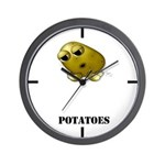 Potato Head with Toes Wall Clock