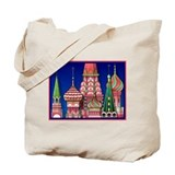 Moscow Architecture Tote Bag
