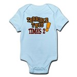 Terrible Twos - Times 2! Infant Bodysuit