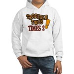 Terrible Twos - Times 2! Hooded Sweatshirt