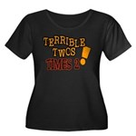Terrible Twos - Times 2! Women's Plus Size Scoop N
