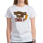 Terrible Twos - Times 2! Women's T-Shirt