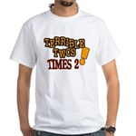 Terrible Twos - Times 2! White T-Shirt