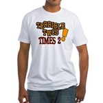 Terrible Twos - Times 2! Fitted T-Shirt