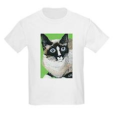 Cute Snowshoe cat T-Shirt