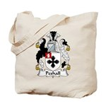 Peshall Family Crest Tote Bag