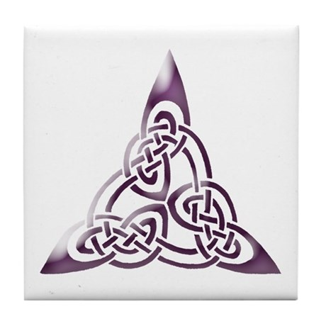 Gifts  gt  Kitchen  amp  Entertaining  gt  Celtic Eternity Symbol Tile CoasterCeltic Eternity Symbol
