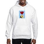 I LOVE DONUTS Hooded Sweatshirt