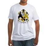 Pembroke Family Crest  Fitted T-Shirt