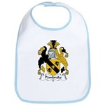 Pembroke Family Crest  Bib