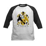Pembroke Family Crest  Kids Baseball Jersey