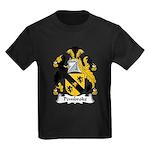 Pembroke Family Crest Kids Dark T-Shirt