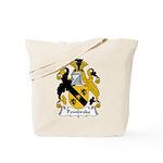 Pembroke Family Crest Tote Bag