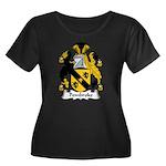 Pembroke Family Crest Women's Plus Size Scoop Nec