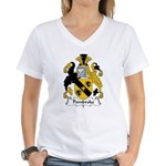 Pembroke Family Crest  Women's V-Neck T-Shirt