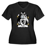 Paske Family Crest Women's Plus Size V-Neck Dark