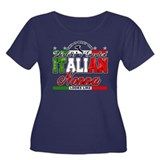 World's Greatest Italian Nonna Women's Plus Size S