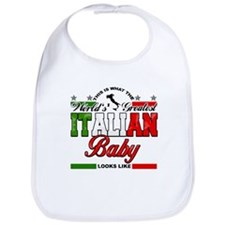 World's Greatest Italian Baby Bib
