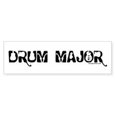 Drum Major Bumper Bumper Sticker