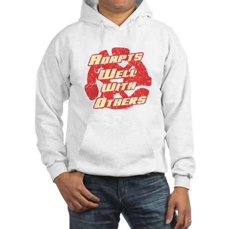 Adapts Well Hooded Sweatshirt