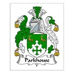 Parkhouse Family Crest Small Poster