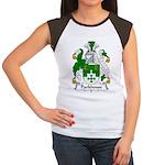 Parkhouse Family Crest Women's Cap Sleeve T-Shirt