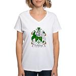 Parkhouse Family Crest Women's V-Neck T-Shirt