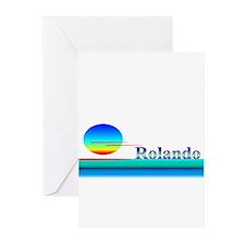 Rolando Greeting Cards (Pk of 20)
