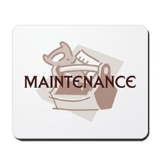 Maintenance Man Mousepad