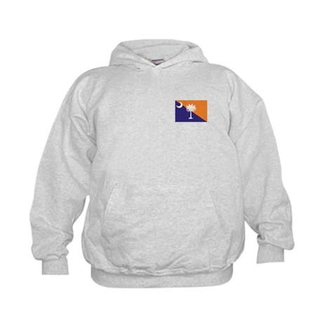 Orange Purple SC Flag Kids Sweatshirt
