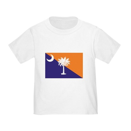 Orange Purple SC Flag Toddler T-Shirt