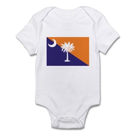 Orange Purple SC Flag Infant Bodysuit