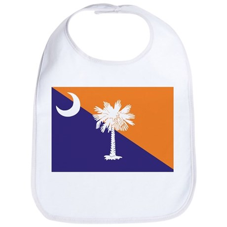 Orange Purple SC Flag Bib