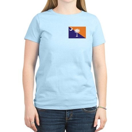 Orange Purple SC Flag Women's Light T-Shirt