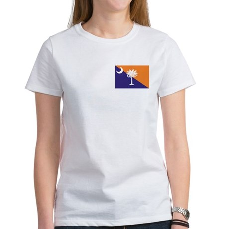 Orange Purple SC Flag Women's T-Shirt