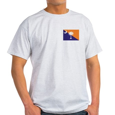 Orange Purple SC Flag Light T-Shirt