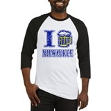 I BEER MILWAUKEE Baseball Jersey