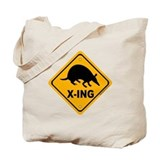 Armadillo X-ing Tote Bag