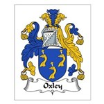 Oxley Family Crest Small Poster