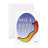 Rosh Hashanah Good Year Greeting Card