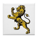 Rampant Lion Tile Coaster