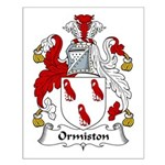 Ormiston Family Crest Small Poster