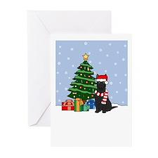German Shepherd Christmas Greeting Cards (10 Pk)