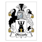 Oldcastle Family Crest Small Poster