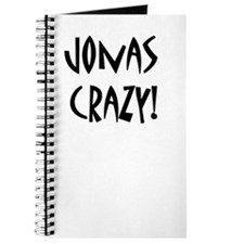 BACK TO SCHOOL JONAS CRAZY JOURNAL!