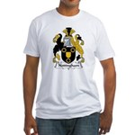 Nottingham Family Crest Fitted T-Shirt