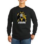 Nottingham Family Crest Long Sleeve Dark T-Shirt
