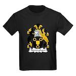 Nottingham Family Crest Kids Dark T-Shirt