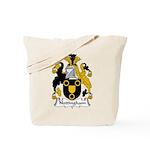 Nottingham Family Crest Tote Bag