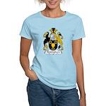 Nottingham Family Crest Women's Light T-Shirt